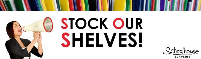 Stock Our Shelves - Spring Campaign